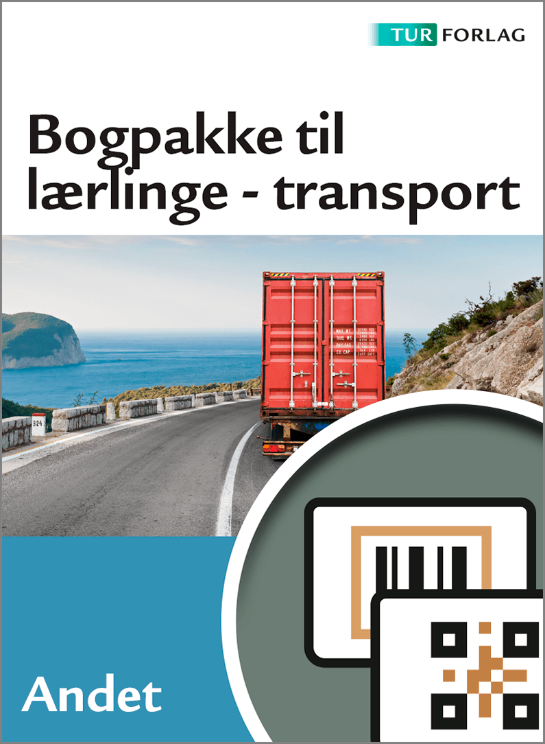 Bogpakke til lærlinge - Transport